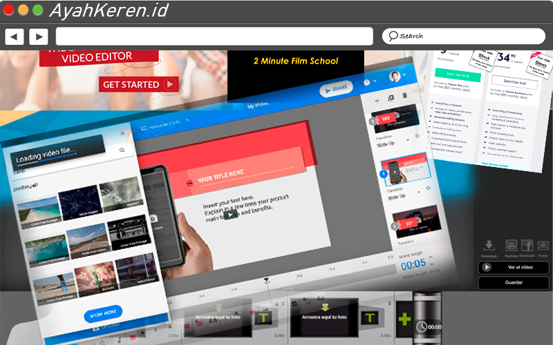 Alat untuk Mengedit Video Online 03