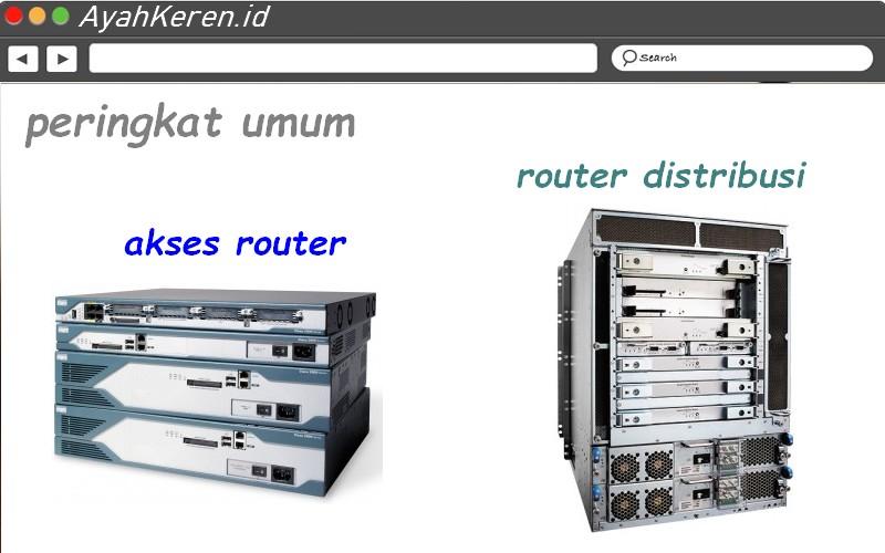 router distribusi akses